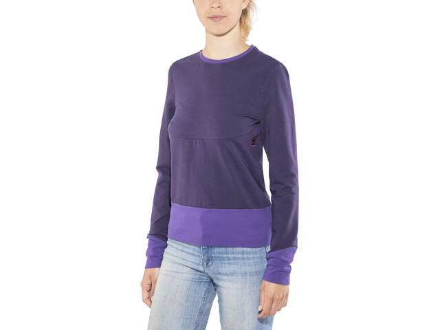 E9 Kat Fleece Jacket Women Purple